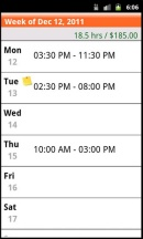 My hours app 2