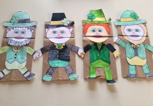 Best Nanny Newsletter Paddy Day Puppet