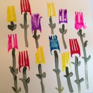 Best Nanny Newsletter Tulips