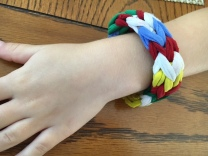 fabric loop bracelet best nanny newsletter