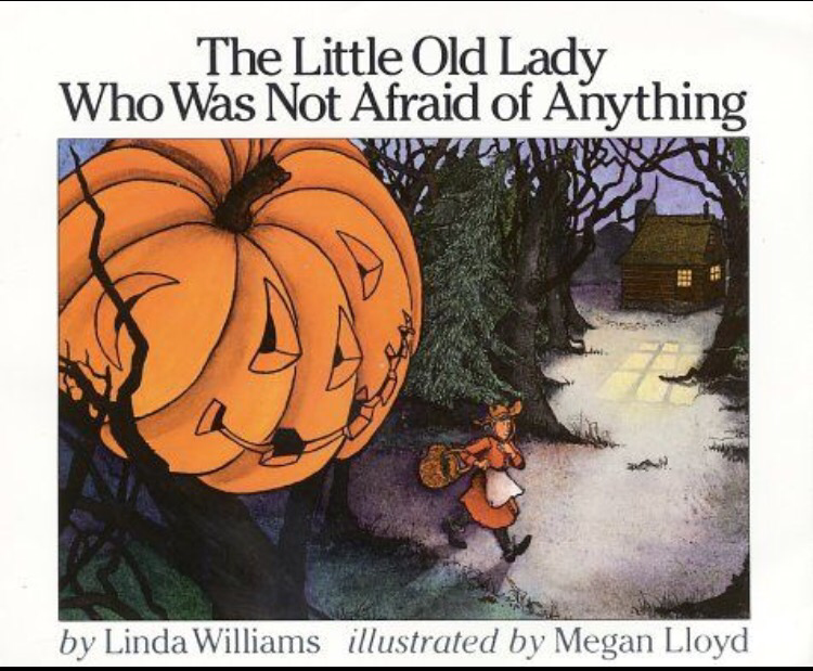 2 the little old lady who was not afraid of anything